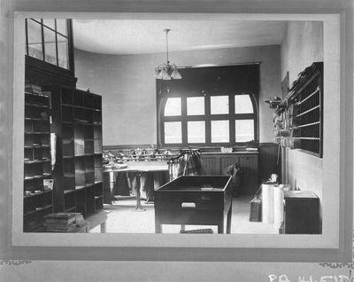 Post Office, interior, Smiths Falls