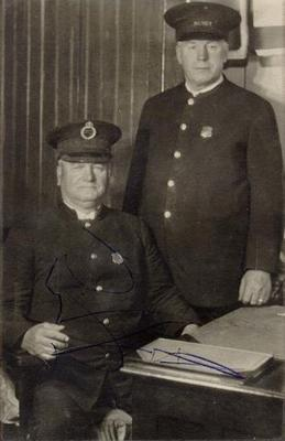 Chief Constable George Phillips and Sergeant John Lees, Smiths Falls, 1920-30s
