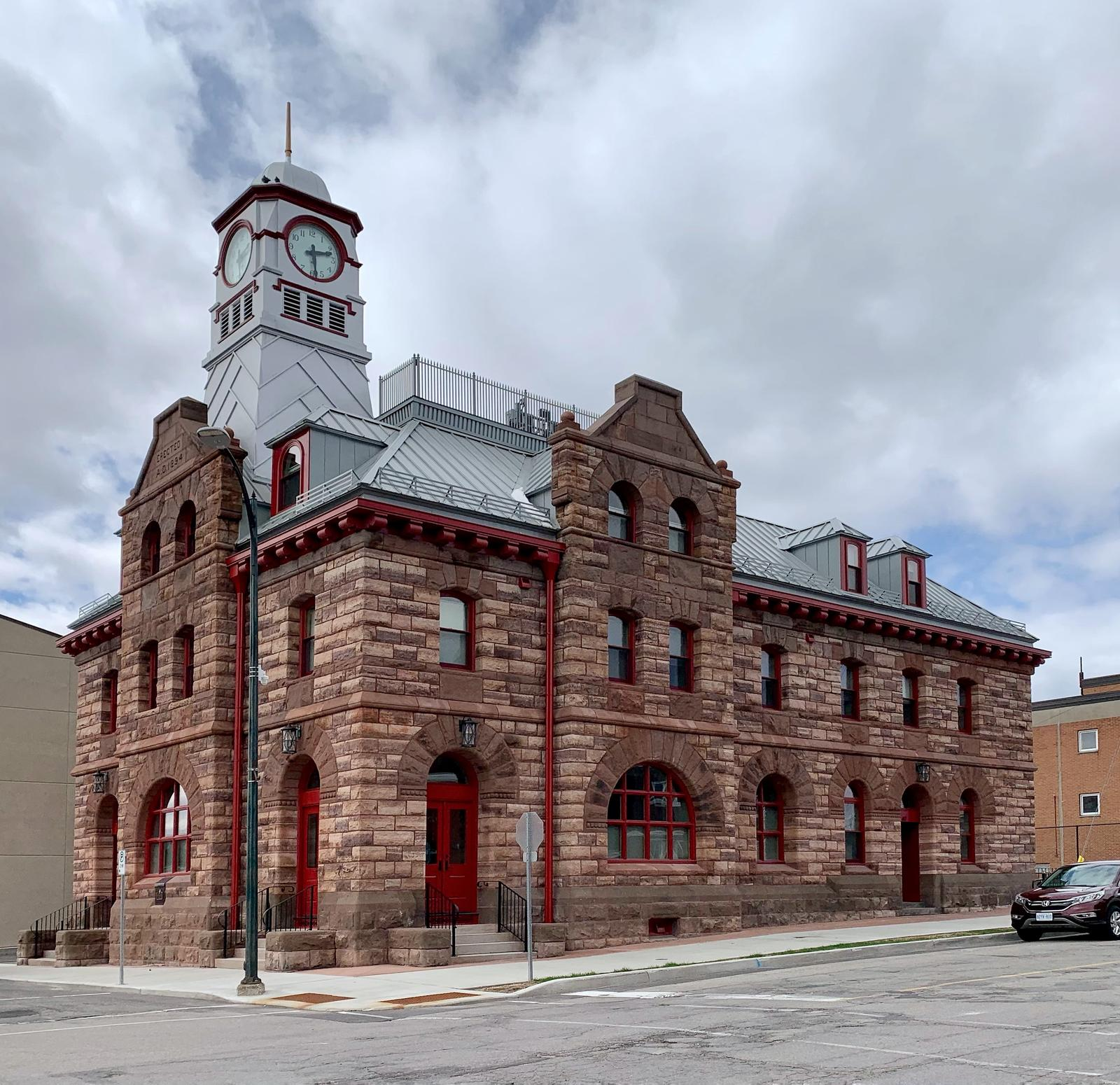 Post Office, 30 Russell Street East, Smiths Falls, April 2021