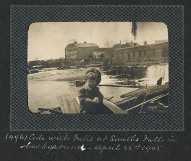 View of Smiths Falls by  Edwin Lester Brittain, 1905