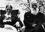Tom Corbett and his wife Priscilla Woods, Smiths Falls