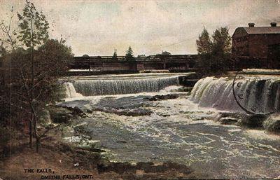 The Falls, Smiths Falls postcard