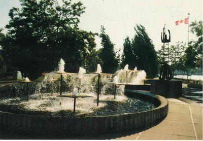 Centennial Park, Smiths Falls postcard