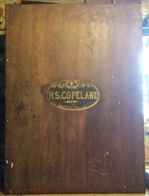 H.S. Copeland cabinet, Smiths Falls