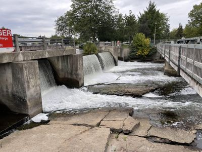 Combined Dam, Smiths Falls