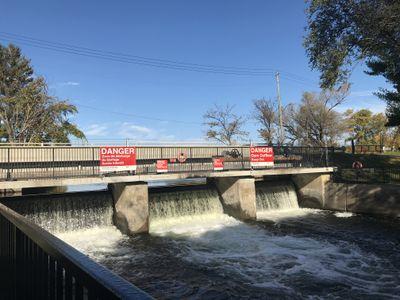 Dam near Old Sly's Lock, Smiths Falls