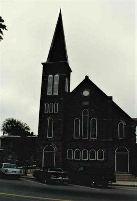 First Baptist Church, Smiths Falls, 1989