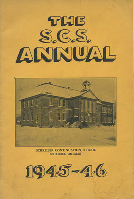 Schreiber Continuation School Annual Pamphlet 1945-46