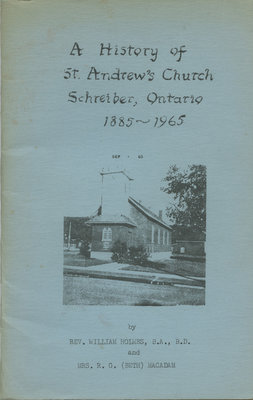 A History of St. Andrew's Church
