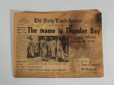 """""""The Name is Thunder Bay"""""""