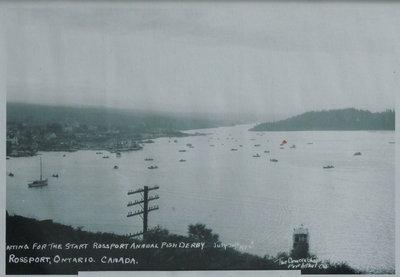 Rossport Fish Derby Postcard