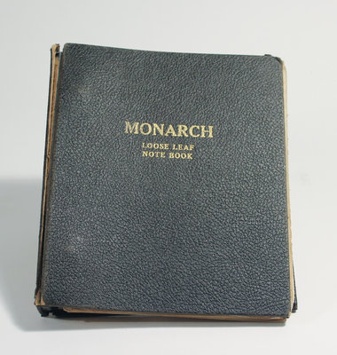 Monarch Looseleaf Notebook