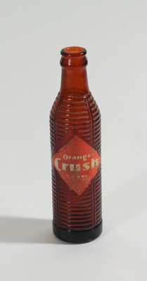 Orange Crush Glass Bottle