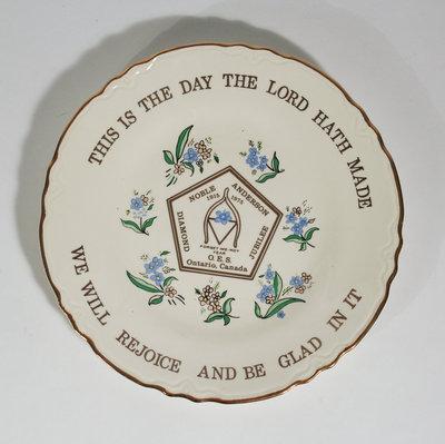 1975 Commemorative Jubilee Plate