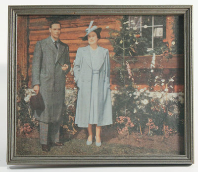 Framed Photograph of the Queen