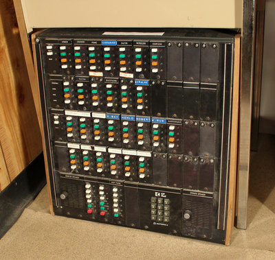 Track Section Intercom Switchboard with Foot Pedal