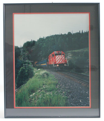 Framed Photograph of Unit 3076