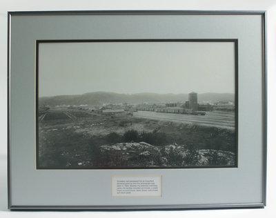 Framed Photograph of Schreiber C.P.R.