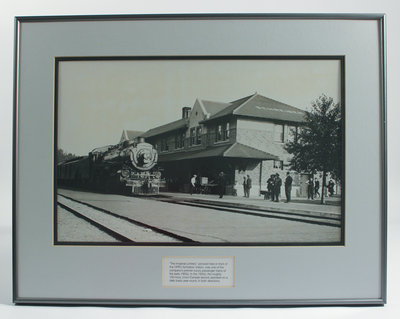 Framed Photograph of The Imperial Limited