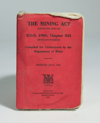 The Mining Act Booklet