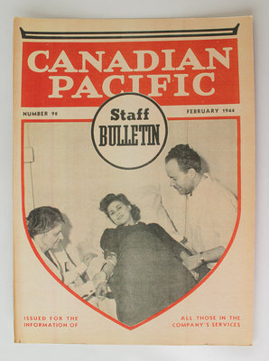 Canadian Pacific Staff Bulletin