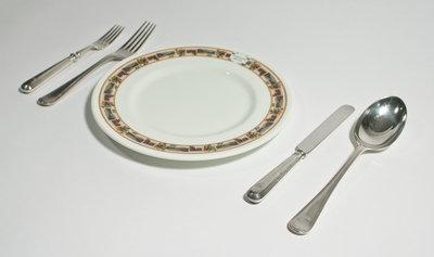 Canadian Pacific Railway Dinnerware Set