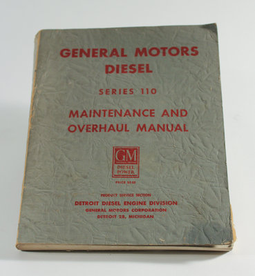 General Motors Diesel Maintenance and Overhaul Manual