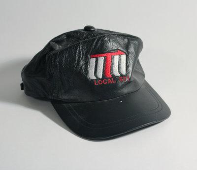 Leather Cap - Local 571
