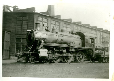 Canadian Pacific Railway Engine 1000