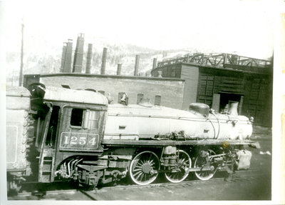 Canadian Pacific Railway Engine 1254
