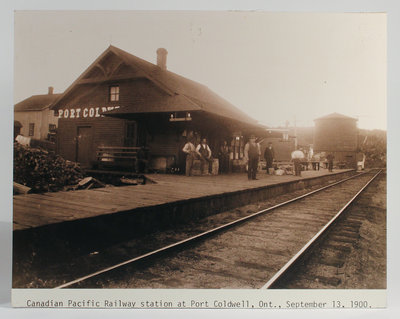 Canadian Pacific Railway Station at Port Coldwell