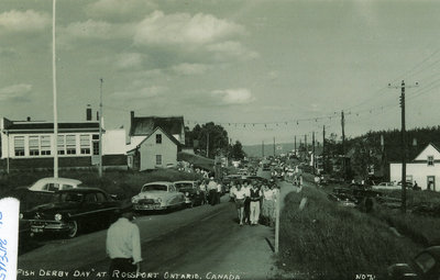 Rossport Fish Derby Postcard