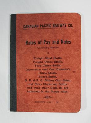 Canadian Pacific Railway Company Handbooks