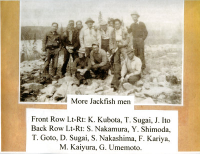 Group Photo at Jackfish Japanese Internment Camp