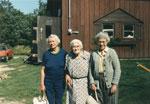 Mrs. K Scroggie, Isabella Cook, and Tommy Scroggie Cummings.