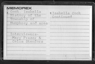 Isabella Cook Interview