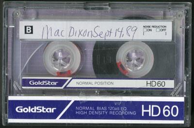 Mac Dixon Interview