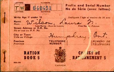 Ration Booklet