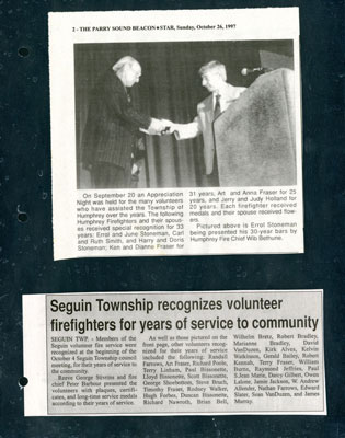 Recognizing Volunteers
