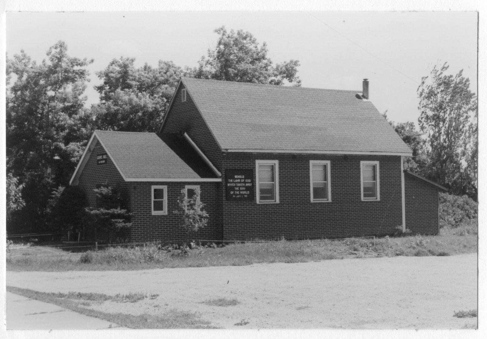 South River Gospel Hall, circa 1950