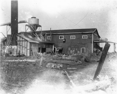 Planing Mill, South River Area, circa 1900