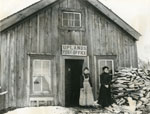 Uplands Post Office, circa 1890