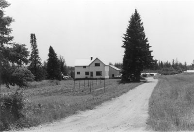 Old Ralston Farm, circa 1930