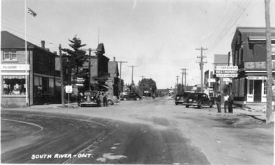 South River Street, circa 1940