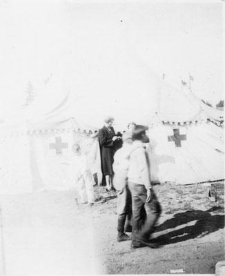 South River Fall Fair Tent, circa 1940