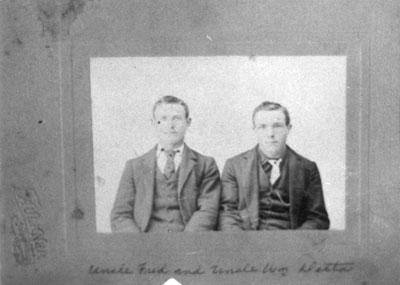 Fred and William Detta