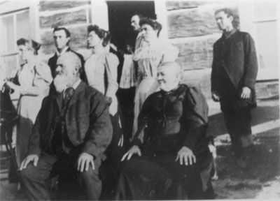 Christian Dunker and Family, circa 1900