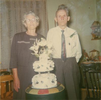 Grandpa & Grandma Gore, circa 1970