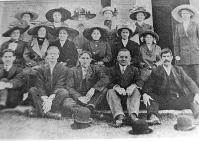 Methodist Choir, 1917