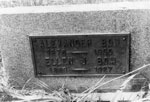 Tombstone of Alexander Bow and Ellen J. Bow